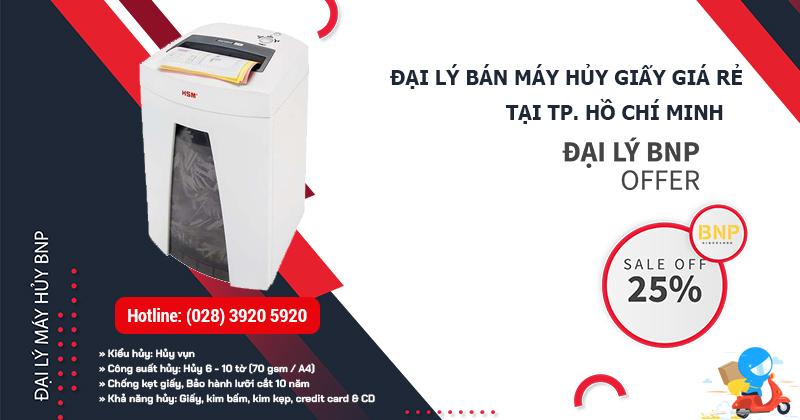 đại lý bán máy hủy giấy giá rẻ HCM