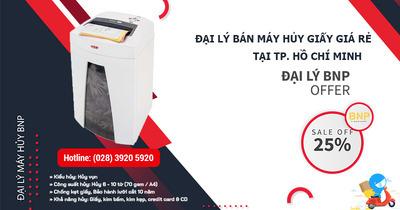 Đại lý bán máy hủy giấy giá rẻ, chất lượng tại HCM