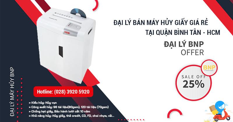Đại lý bán Máy hủy giấy - Máy hủy tài liệu giá rẻ tại Quận Bình Tân, HCM