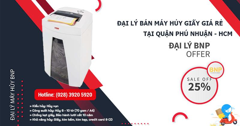 Đại lý bán Máy hủy giấy - Máy hủy tài liệu giá rẻ tại Quận Phú Nhuận, HCM
