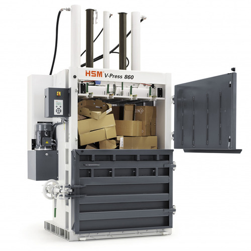 Máy Đóng Bành Phế Liệu HSM V Press 860 S - Hình 1