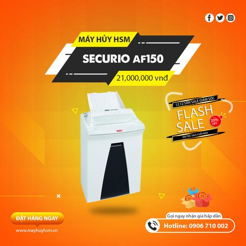 Máy Hủy Giấy HSM Securio AF150 1,9x15mm - Hình 1