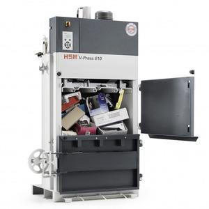 Máy Đóng Bành Phế Liệu HSM V Press 610 ECO
