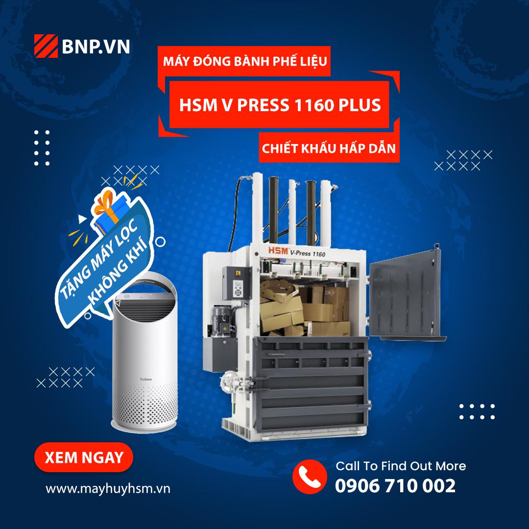 Chương trình ưu đãi HSM V Press 1160 Plus