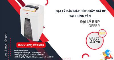 Máy hủy giấy, Máy hủy tài liệu giá rẻ tại Hưng Yên