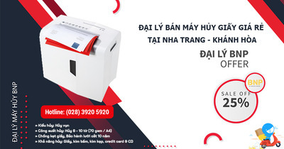 Máy hủy giấy, máy hủy tài liệu giá rẻ tại Nha Trang – Khánh Hòa