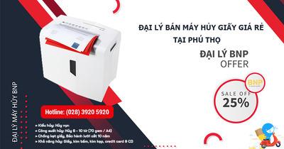 Máy hủy giấy, Máy hủy tài liệu giá rẻ tại Phú Thọ