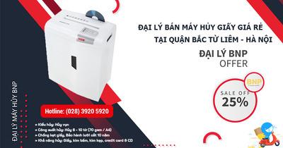 Máy Hủy Giấy - Máy Hủy Tài Liệu Giá Rẻ Tại Quận Bắc Từ Liêm, Hà Nội