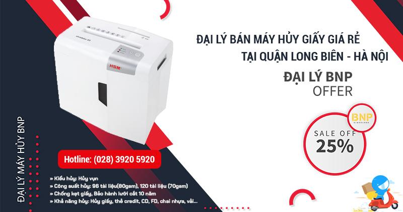 Máy hủy giấy - Máy hủy tài liệu giá rẻ tại Quận Long Biên, Hà Nội